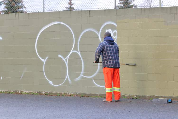 How to We Do Graffiti Removal