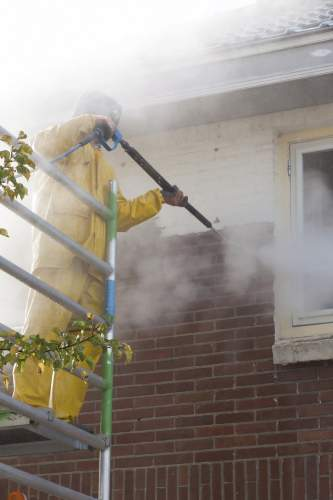 Exterior House Pressure Cleaning in Newcastle