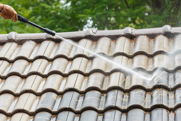 Roof Pressure Cleaning in Newcastle